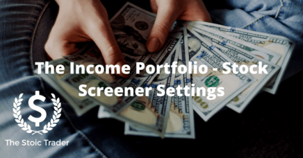 Stock Screener Settings